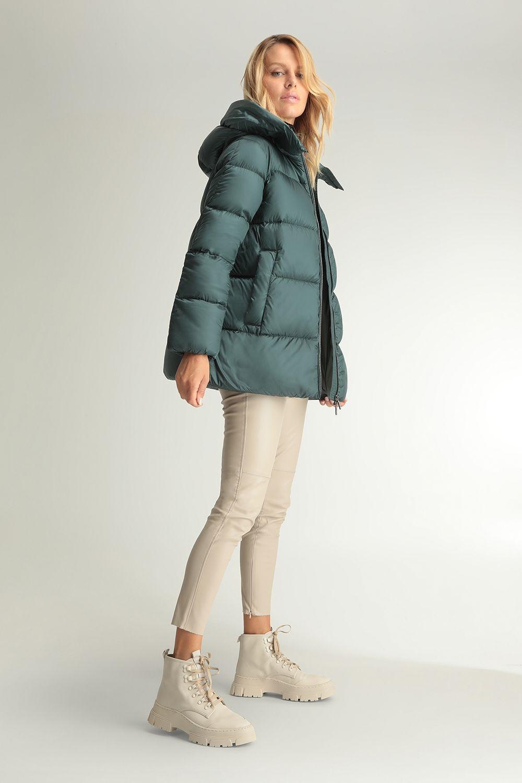 Kalliope teal jacket