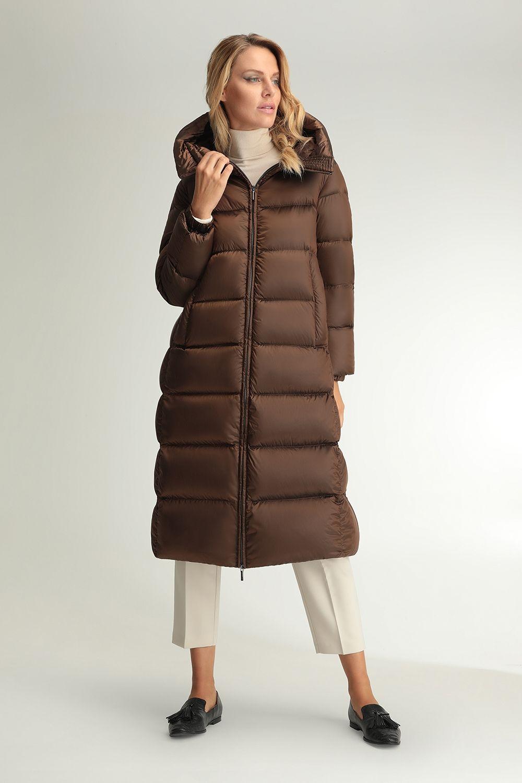 Minerva brown coat