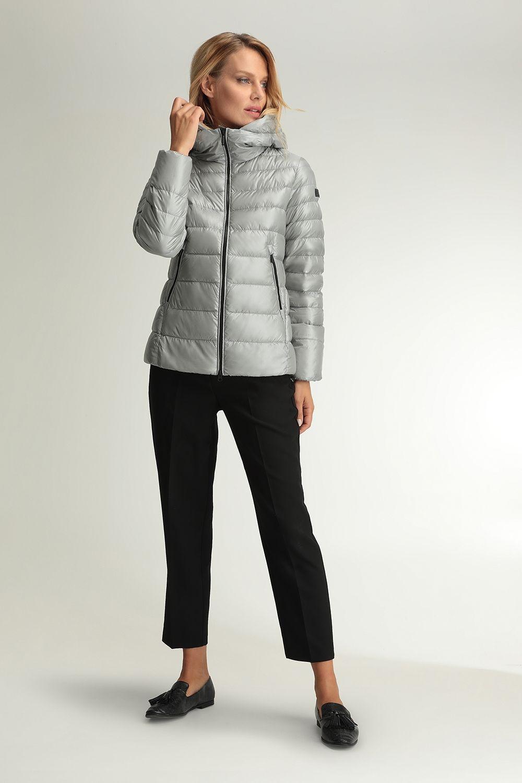 Metis short grey jacket