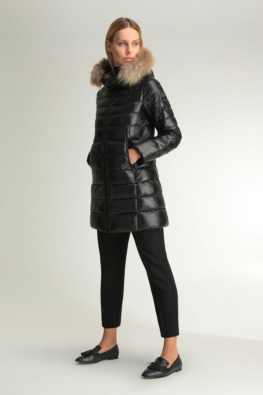 Hekate black long jacket