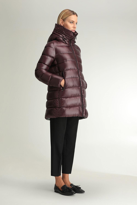 Hygiea plum jacket
