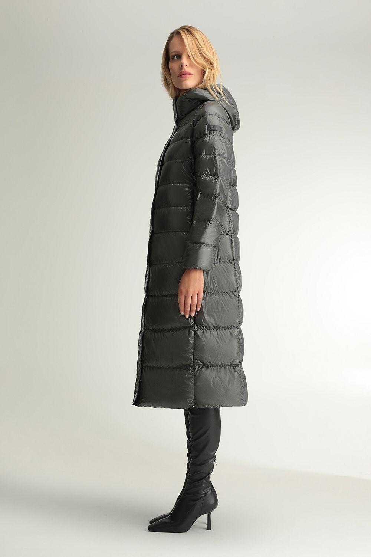 Flora grey coat