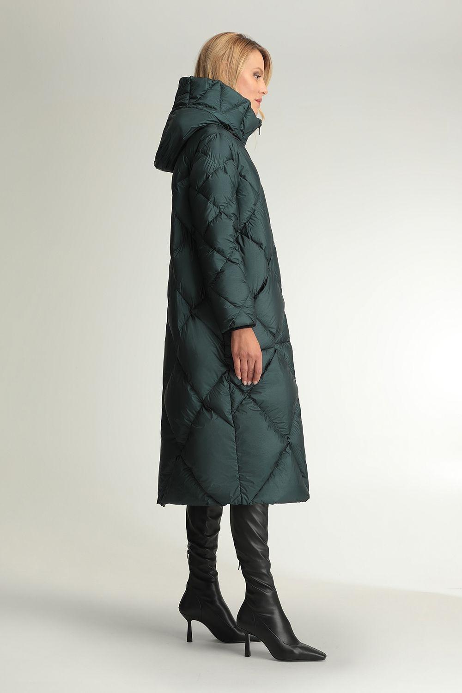 Kalypso diamond quilted coat