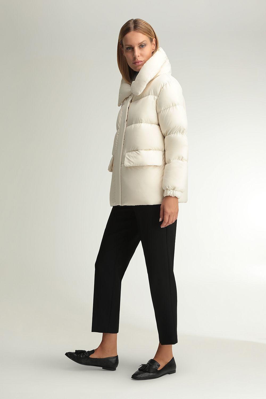 Beatrix cream quilted jacket