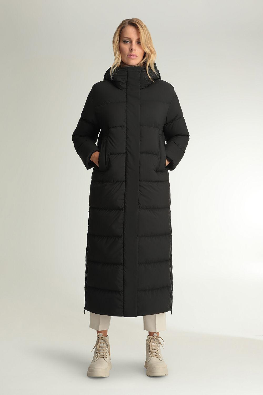 Helena black zipped coat