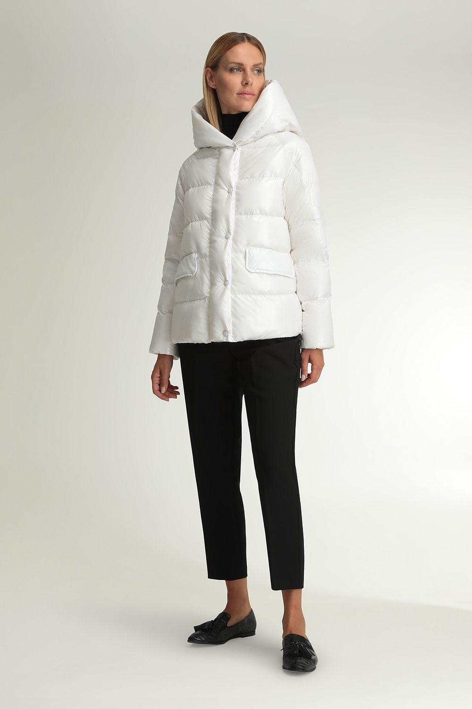 Cyrene white shiny jacket
