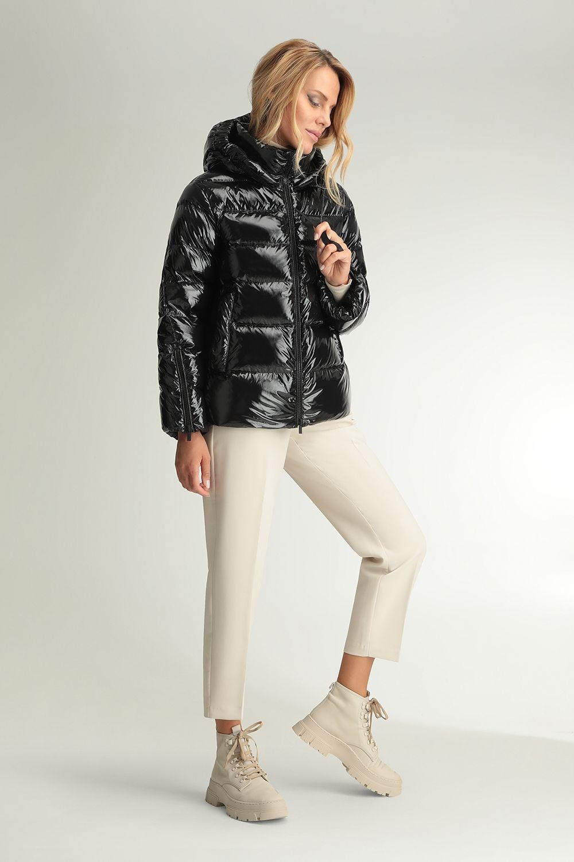 Pales black shiny jacket