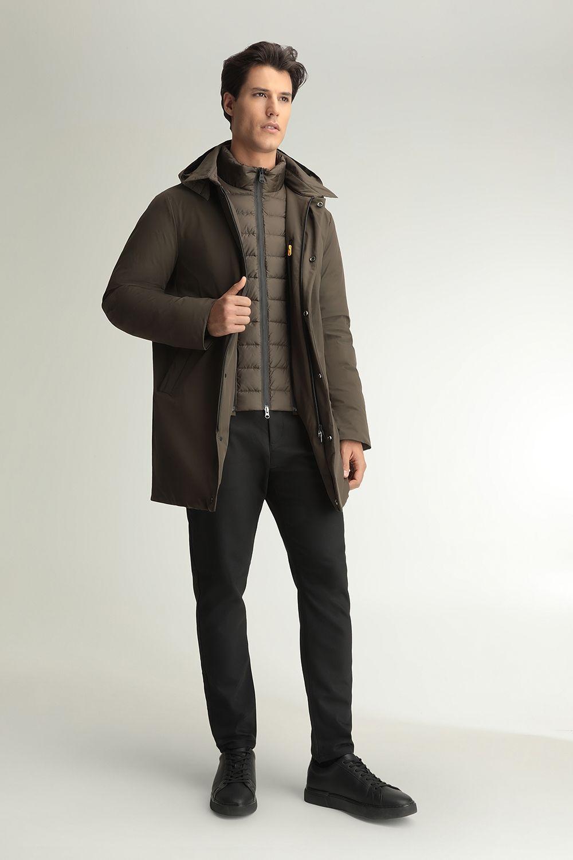 Edgar green coat