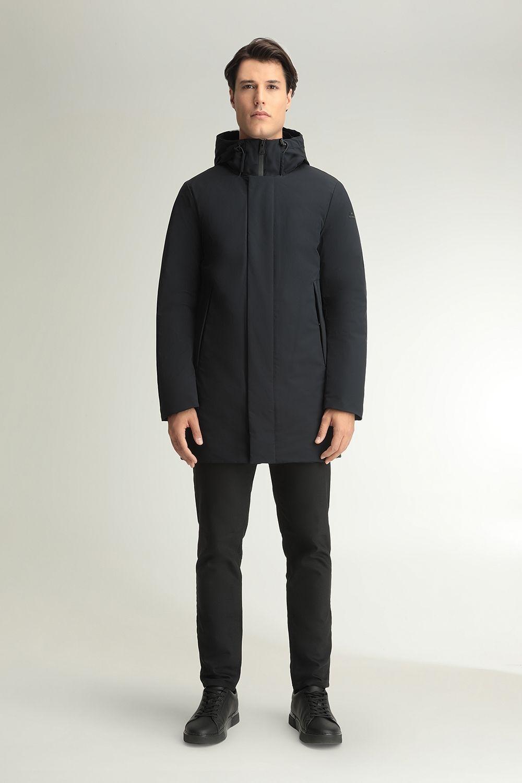 Derek blue coat
