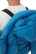 Cayo blue down puffer jacket
