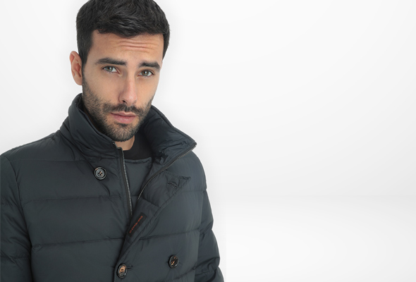 Mens' down jacket Hetregó