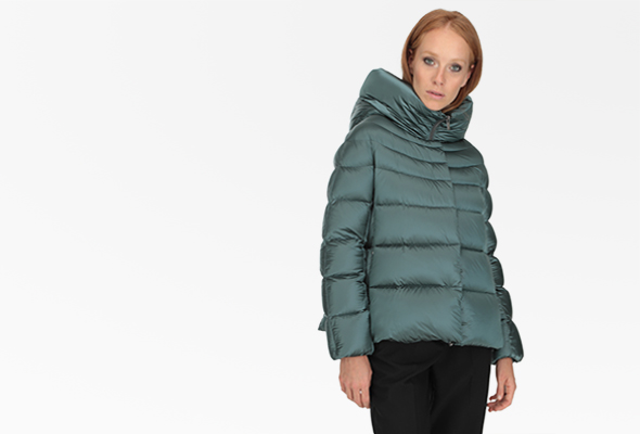 Women's winter short down jackets Hetregó