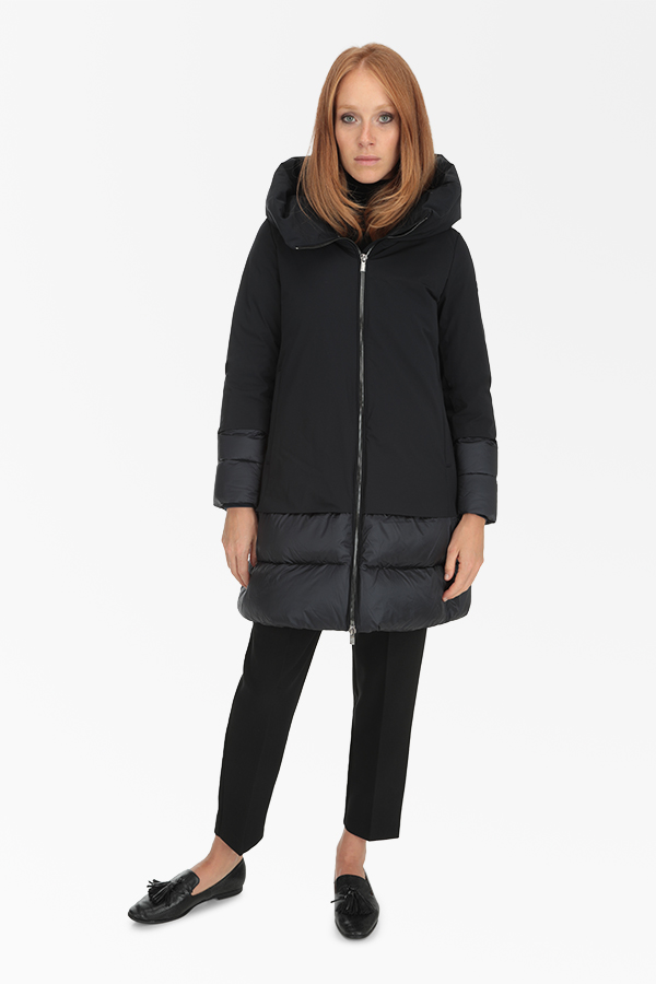 Hetregó women's long down jackets