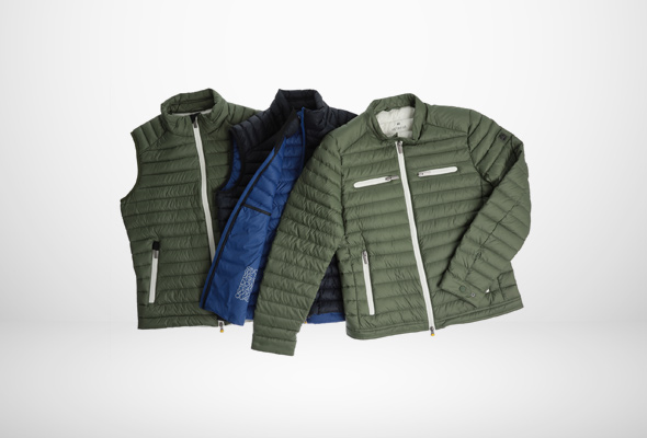 Mens' light down jacket Hetregó
