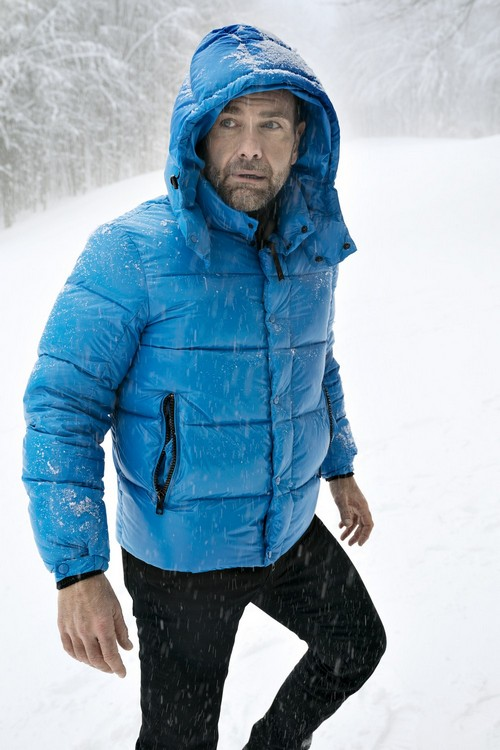 Cayo Blue Down Jacket for Man