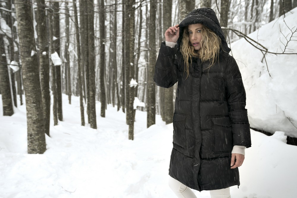 Margot Black Down Jacket for Woman