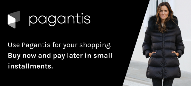 Use Pagantis for your shopping. Buy now and pay later in small installments